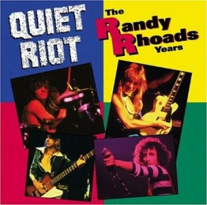 Quiet Riot - The Randy Rhoads Years - promo cover pic - 1993 - #33QRRRMO