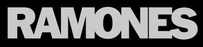 Ramones - Classic Band Logo - #900870RMOPNYC