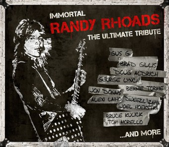 Randy Rhoads - The Ultimate Tribute - promo cover pic - #RRHMMOT3399