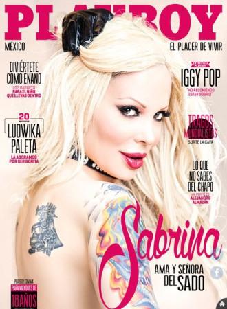 Sabrina Sabrok - Playboy cover - Mexico - promo cover pic - #2015MO