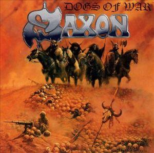 Saxon - Dogs Of War - promo album cover pic - 1995 - #95SMO0323