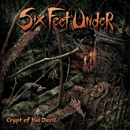 Six Feet Under - Crypt Of The Devil - promo album cover pic - 2015 #663409MO