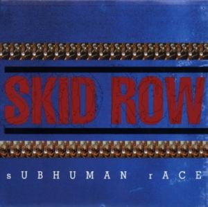 Skid Row - Subhuman Race - promo album cover pic - 1995 - #0328SRMO003