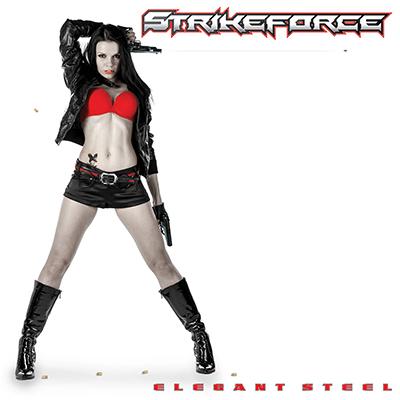 Strikeforce - Elegant Steel - promo album cover pic - 2014 - #33SFHVMMO