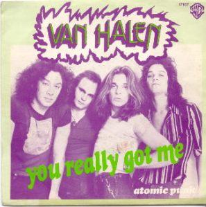 Van Halen - You Really Got Me - Atomic Punk - 45rpm cover sleeve promo - #1978VHMOTK64