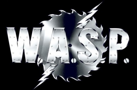 Wasp - Classic Band Logo - white on black - 03291577BLWNRMO33