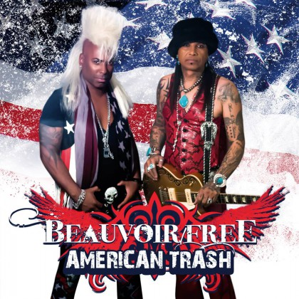 American Trash - Beauvoir Free - promo pic - 2015 - Frontiers - MO041415