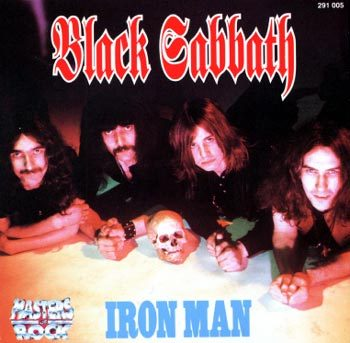 Black Sabbath - Iron Man - promo cover pic - #008777MOBSIM06