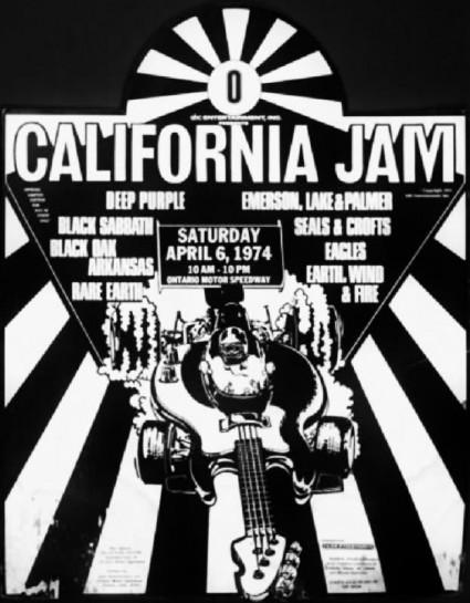 California Jam - 1974 - promo concert poster - #0674CJMO00777