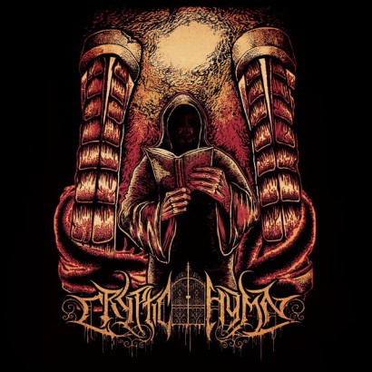Cryptic Hymn - Revel In Disgust - promo single cover pic - 2015 - #449MO