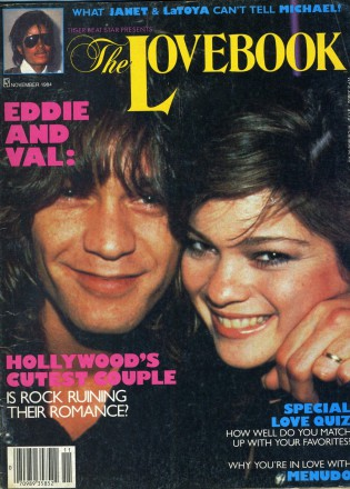 Eddie Van Halen - Valerie Bertinelli - The Love Book - cover promo - 1982 - #VHVBMO