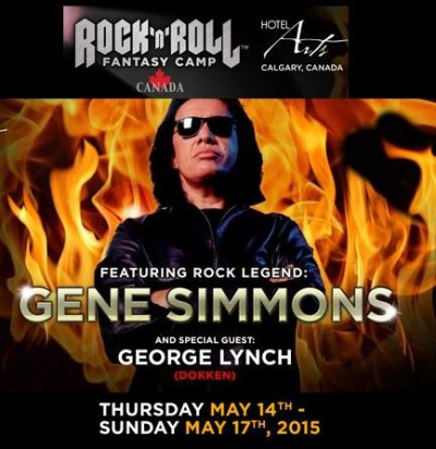 Gene Simmons - Rock N Roll Fantasy Camp - May - 2015 - #KMO78