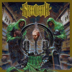 Green Death - Manufacturing Evil - promo album cover pic - 2015