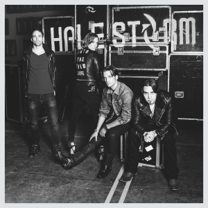 Halestorm - The Wild Life - promo album cover pic - 2015 - #HMO0526