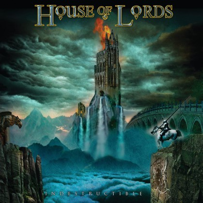 House Of Lords - Indestructible - promo album cover pic - 2015