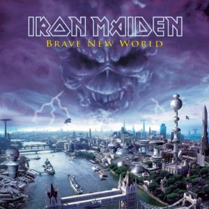 IRON MAIDEN - Brave New World - promo album cover pic - 2000 - #33303IMMO