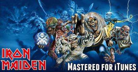 Iron Maiden - Mastered For iTunes - promo banner pic - april 7 - 2015 - #IMMO77603
