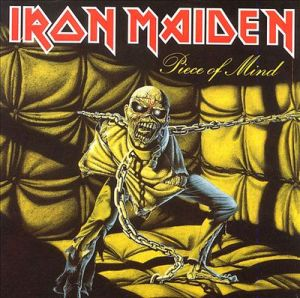 Iron Maiden - Piece Of Mind - promo album cover pic - 1982 - #66IMMO0104