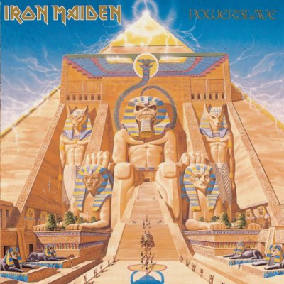 Iron Maiden - Powerslave - 1984 - promo album cover pic - #IMMO3366