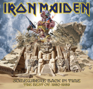 Iron Maiden - Somewhere Back In Time - greatest hits - promo album cover pic - #IMMO00990