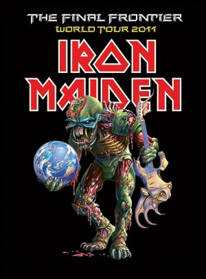 Iron Maiden - The Final Frontier World Tour - promo flyer - 2011 - #3366IMMO11