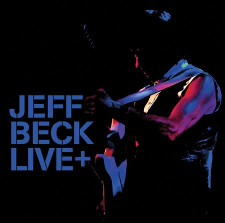 Jeff Beck Live+ - promo album cover pic - 2015 - JBMIMO0115