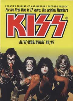 KISS - Alive Worldwide - 96:97 - promo tour poster - #KMO33877