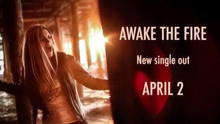 Maja Schønning - Forever Still - Awake The Fire - promo banner - April 2 - 2015