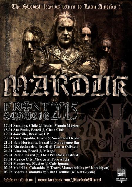 Marduk - Latin America Tour Dates - 2015 - promo poster - #M663MO9339