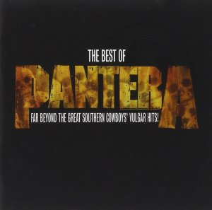 Pantera - The Best Of - Promo Album Cover pic - #333777PDDMO04