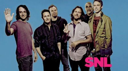 Pearl Jam - Saturday Night Live - promo photo - 1992 - #PJ9233MOW
