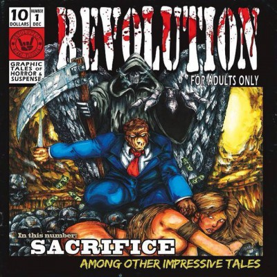 Revolution - Sacrifice - promo debut album cover pic - 2015 - #RMO04