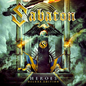 Sabaton - Heroes - Deluxe Edition - promo album cover pic - April 7 - 2015 - SMOH