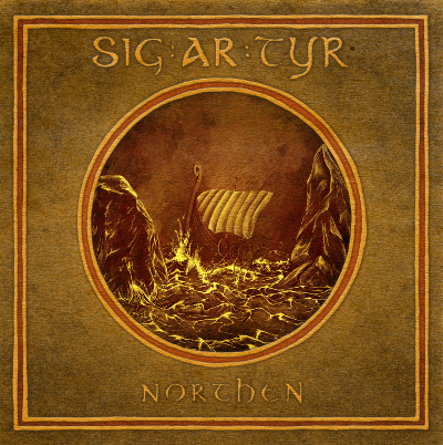 SIG AR TYR - Northen - promo album cover pic - 2015