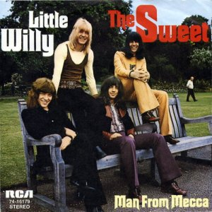 Sweet - Little Willy - promo 45rpm - cover sleeve - #1973SMO