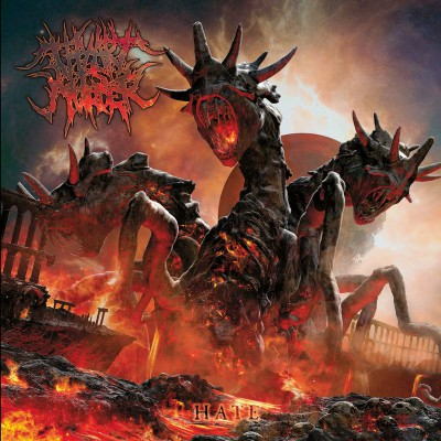Thy Art Is Murder - Hate - promo album cover pic - 2015 - #220HMO
