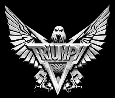 Triumph - classic band logo - #3377MOTCRR0612