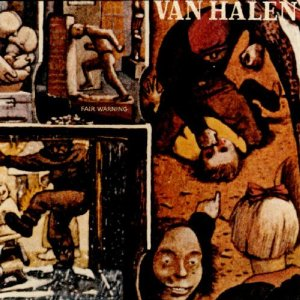 Van Halen - Fair Warning - promo album cover pic - #3300330