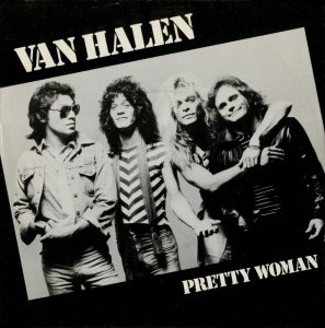 Van Halen - Pretty Woman - 45rpm - promo cover - 1982 - #0417VHMO1