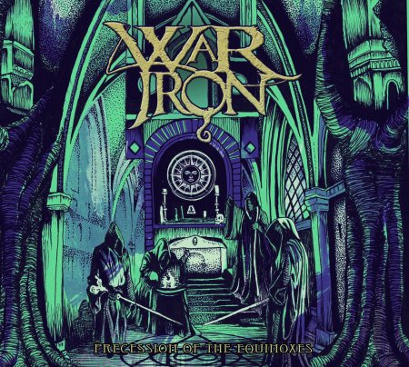 WAR IRON - Precession Of The Equinoxes - promo album cover pic - 2015