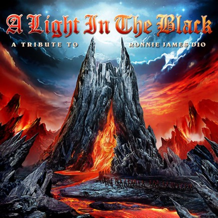 A Light In The Black - A Tribute To Ronnie James Dio - promo album cover pic - 2015 - #052215MOMR