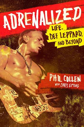 Adrenalized - Phil Collen - autobiograpy - promo cover pic - 2015 -#0515MODL