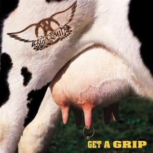 Aerosmith - Get A Grip - promo album cover pic - #1993ASTMO0508