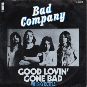 Bad Company - Good Lovin Gone Bad - promo 45rpm cover single - 1975 - #360531MOBC