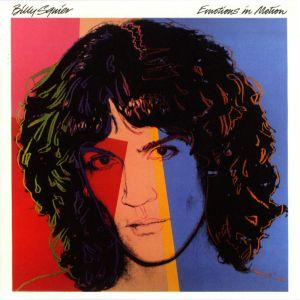 Billy Squier - Emotions In Motion - promo album cover pic - #00993MOBSCR83