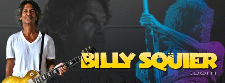 Billy Squier - website banner promo - 2014 - #051233BS