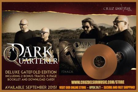 Dark Quarterer - Ithaca - promo vinyl album banner - 2015 - 0515MODQ