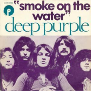 Deep Purple - Smoke On The Water - promo 45rpm cover sleeve - 1973 - #4DPMOSIG