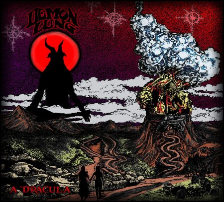Demon Lung - A Dracula - promo album cover pic - 2015 - #052615DLMO