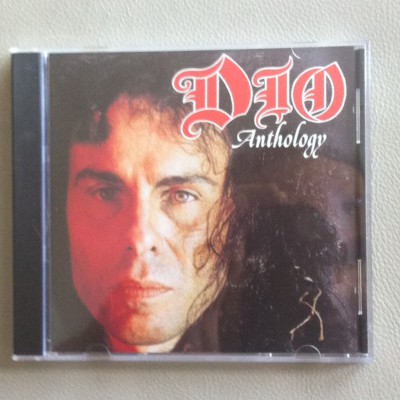 DIO - Anthology - CD front cover - Metal Odyssey - 2015